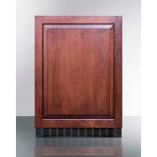 Summit FF64BIF Undercounter Built In-Freestanding Refrigerator 4.6 Cu. Ft. Black