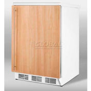 Summit FF67IF - Freestanding Counter Height All-Refrigerator W/ Auto Defrost, 3 Glass Shelves