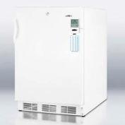 "Summit FF6LBIMEDADA ADA Compliant Auto Defrost 24"" All-Refrigerator For Built-In Use, 5.5 Cu. Ft."