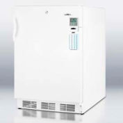 "Summit FF7LBIMEDADA Commercially Listed ADA Compliant 24"" Built-In Undercounter Refrigerator"