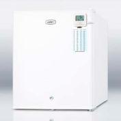 "Summit FS22L7PLUS - Commercial Compact Freezer, Lock, 1.4 Cu. Ft.. 17-3/8""W x 20-1/4""H"