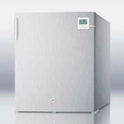 Summit FS22LCSSPLUS - Compact All-Freezer In S/S, Manual Defrost With Lock, Traceable Thermometer