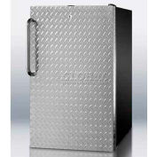 "Summit FS408BLBIDPLADA - ADA Comp 20""W Built-In Undercounter All-Freezer, -20°C Capable, BK"