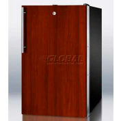 "Summit FS408BLBIIFADA - ADA Comp 20""W Built-In Undercounter All-Freezer -20°C Capable, Lock, BK"