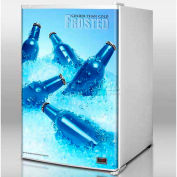 Summit FS60FROST - Cold Cavern Beer Froster, Counter Height, Aluminum Bottled Beer At 24°F