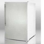 Summit-Slim, Counter Height, All-Freezer, 5 Cu. Ft. S/S Door