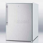 Summit FSM50LESSSHV - Counter Height All-Freezer With Lock, S/S Door, Thin Handle