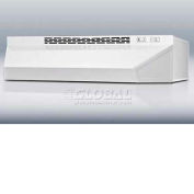 "Summit H1630W - 30""W Convertible Range Hood For Ducted Or Ductless Use, White Finish"