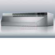 """Summit H1648SS - 48""""W Convertible Range Hood, Ducted, Ductless, Stainless Steel"""