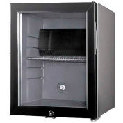 Summit MB25LGL - Thin-Line Minibar With Silent Operation, Glass Door Gray