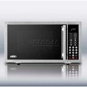 Summit OTR24 - Built-In Microwave Oven For Enclosed Installation, .9 Cu. Ft., 900 Watts
