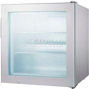 Summit SCFU386CSS - Countertop Impulse Freezer, S/S Wrapped Cabinet