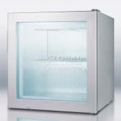Summit SCFU386VK - Compact Commercial Vodka Chiller, Self-Closing Glass Door