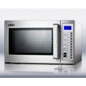 Summit® SCM1000SS, Microwave Oven, 0.9 Cu. Ft., 1000 Watts, Digital Controls