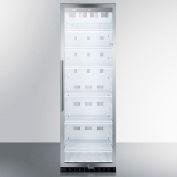 Summit SCR1300CSS - Full-Sized Beverage Merchandiser, Auto Defrost, S/S Cabinet