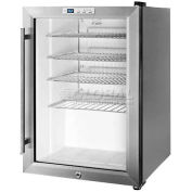 Summit SCR312LCSS - Commercial Countertop Beverage Cooler, Glass Door