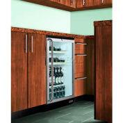 Summit SCR600BLBISHWOPUB - Comm. Built-In Glass Door Refrigerator, Red Wine, Ale Storage