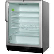 Summit SCR600BLCSSADA - Refrigerator, ADA Comp Commercial, 5.5 Cu. Ft. Built-In Use, Lock