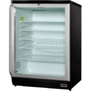 Summit SCR600BLSHPUB - Commercial Freestanding Glass Door Refrigerator For Red Wine, Ale Storage,
