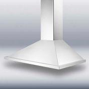 """Summit SEH1536 - 36"""" European 500 CFM Range Hood, Stainless Steel"""