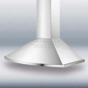 """Summit SEH2636 - 36"""" European 500 CFM Range Hood, S/S"""