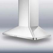 """Summit SEH3636 - 36"""" European 650 CFM Range Hood, Stainless Steel"""