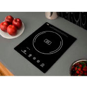 Summit SINC1110 - Built-In Induction Cooktop Single Zone, 1800W, BK Ceran™, Smooth-Top, BK