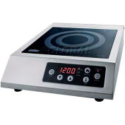 Summit SINCCOM1 - 110V Induction Cooktop For Portable Commercial Use, Black