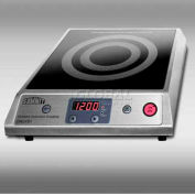 Summit SINCFS1 - Portable Induction Cooktop, Black Ceran, Smooth-Top Finish