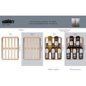 "Summit SWC3000 - Built-In Wine Cellar, Dual Zone W/Locks, 30"" W S/S, Digital Thermostat"