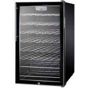 "Summit SWC525L7HV - 20""W Freestanding Wine Cellar, Lock, Digital Thermostat, Thin, Pro Handle"