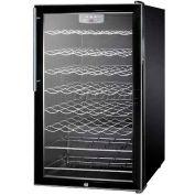 "Summit SWC525L7HV - 20""W Freestanding Wine Cellar, Lock, Digital Thermostat, Thin, Pro Handle"