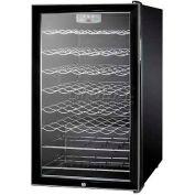 "Summit SWC525LADA - ADA Comp 20""W Freestanding Wine Cellar, Lock, Digital Thermostat"