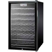 "Summit SWC525LBIHH - 20""W Wine Cellar For Built-In Use,, Lock, Digital TSTAT, Horizontal Handle"