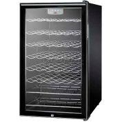 "Summit SWC525LBIHHADA - ADA Comp 20""W Wine Cellar For Built-In Use,, Lock, Digital Thermostat"