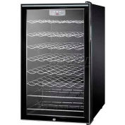 "Summit SWC525LHH - 20""W Freestanding Wine Cellar, Lock, Digital Thermostat, Horizontal Handle"