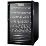 "Summit SWC525LHV - 20""W Freestanding Wine Cellar, Lock, Digital Thermostat, Thin Pro Handle"