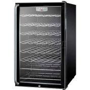 "Summit SWC525LSHADA - ADA Comp 20""W Freestanding Wine Cellar, Lock, Full-Length Towel Bar Handle"