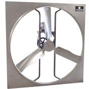 """Schaefer 48"""" Galvanized Steel Panel Fan 483P1 - 1 HP, 32100 CFM, 115/230V"""