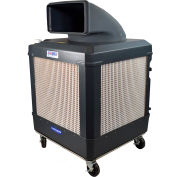 Schaefer Defender™ Series Evaporative Cooler + Air Purifier w/ NPBI technology - Grey