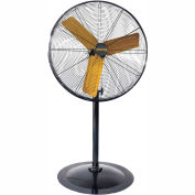 "Master 30"" High Velocity Pedestal Fan MAC-30P, 120V, 8500 CFM"