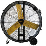 "Master 36"" Direct Drive Portable Barrel Fan MAC-36D, 120V, 13000 CFM"