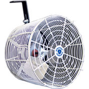 "Versa-Kool 12"" Circulation Fan VK12-GA w/ Galvanized Guard, Cord & Mount 1/10 HP, 1470 CFM, 115/230V"
