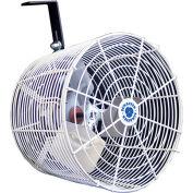 "Versa-Kool 12"" Circulation Fan VK12, w/Tapered Guards, Cord & Mount, 115/230V, 1470 CFM"