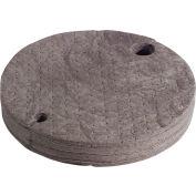 """SpillTech® Universal DrumTop Pads GTOP - 8.6 Gallon Cap. - 22"""" Dia - Polypropylene - 25 per Pack"""