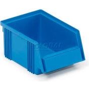 """Treston 1015-6 Plastic Stacking Bin 4-1/8""""W x 6-1/2""""D x 2-15/16""""H, Blue"""