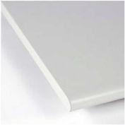 "60""W x 36""D x 1-1/5"" Thick Treston Laminate Postformed Work Surface, 180° Front Comfort Edge"