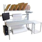"Treston Scale/Carton Table, 29-1/3""W X 23-5/8""D"