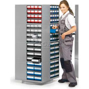 """Treston Turntable Assembly For (16) 0830/1630 Drawer Cabinets, 27-9/16""""W x 27-9/16""""D x 66-1/8""""H"""