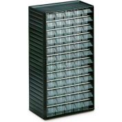 "Treston Visible Storage Drawer Cabinet w/60 L-00 Clear Drawers, 12-3/16""W x 7-1/16""D x 21-5/8""H"